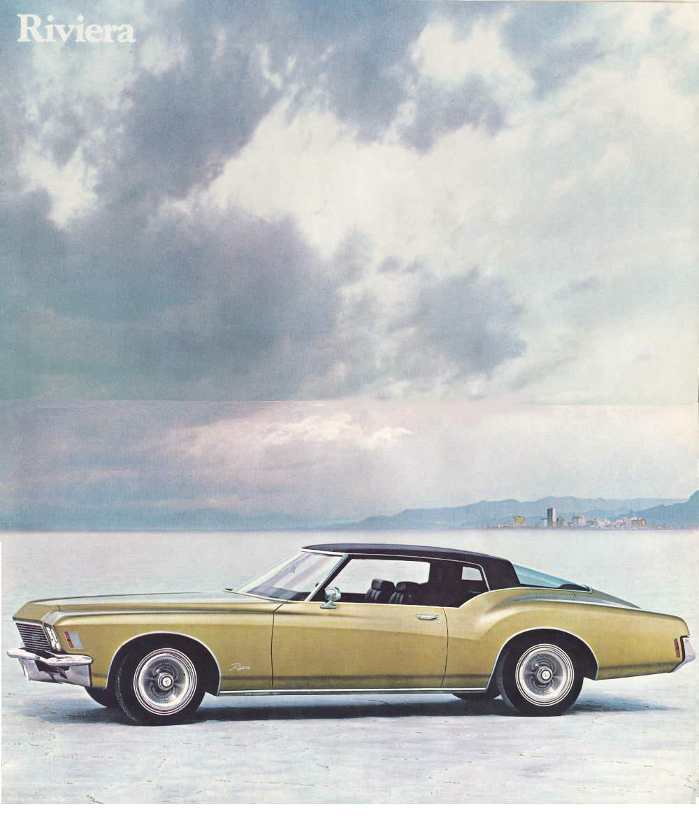 Buick Riviera Boattail 1971 1972 1973 - Brochure